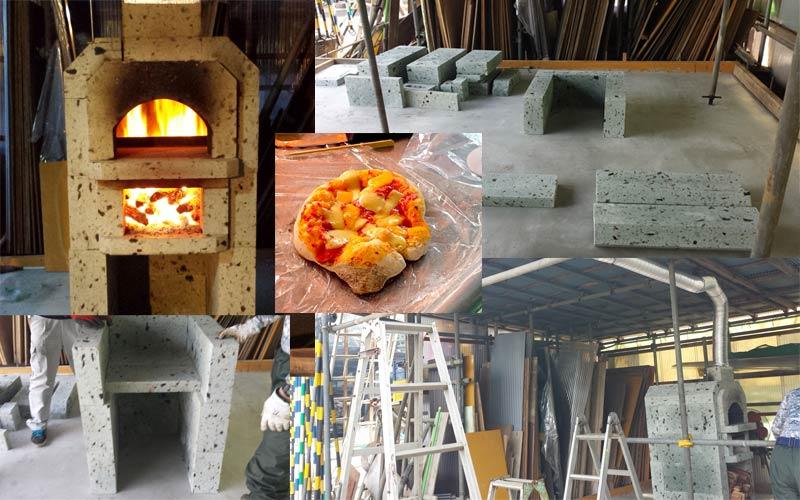 石窯レポート:M様(大谷石2段石窯キット「ジョコフォルノ」)