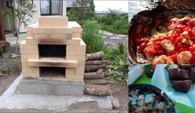 石窯レポート:T様(耐火レンガ製2段石窯キット BORAFORNO(ボラフォルノ))