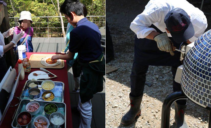 石窯レポート:K様(ドーム型石窯キット「プチドーム+タイルカバー」)