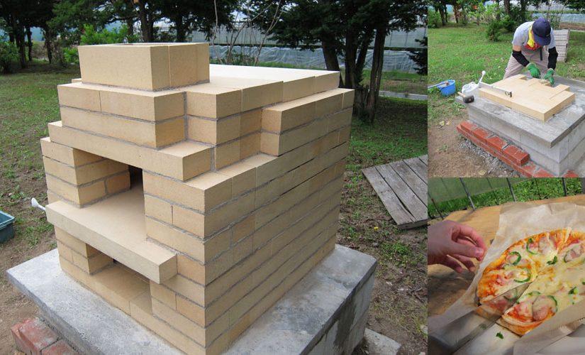 石窯レポート:K様(耐火レンガ製2段石窯キット BORAFORNO(ボラフォルノ))