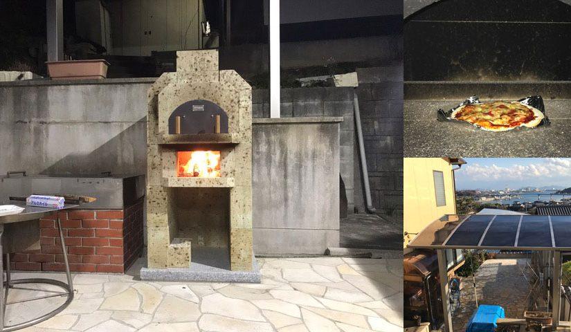 石窯レポート:K様(大谷石2段石窯キット「ジョコフォルノ」)
